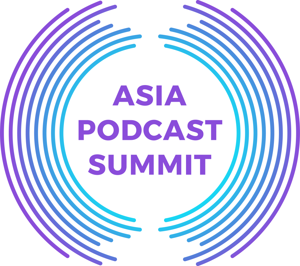 ASIA PODCAST SUMMIT Logo Dark Tiny